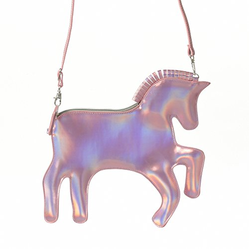 Pardao Unicorn Bag Purse Handbag - Best Gift for Little Girls - Formal & Casual Shoulder Bag Clutch (Clutch Toy)