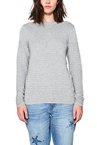 Gris edc Pull Grey 035 by Medium Esprit Femme pPPnIvTq