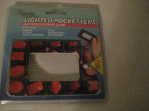 Lighted Pocket Lens Majestic Collection