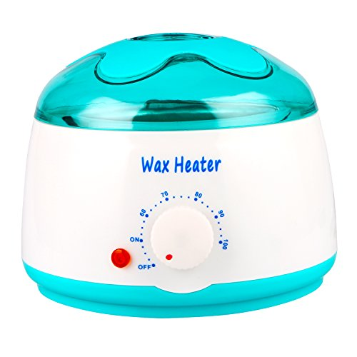 Kissbuty Premium Wax Warmer Portable Electric Hair Removal Wax Heater,14 oz Wax Melting Pot Waxing Depilatory Machine