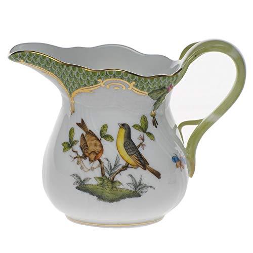 Herend Rothschild Bird Green Porcelain Creamer