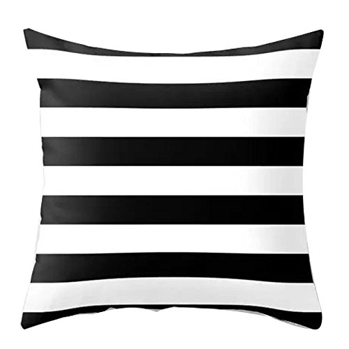 Cover Cotton 134 (Merry Christmas Cushion Cover Case Pillow Custom Zippered Square Pillowcase 18x18 (one side) (134))