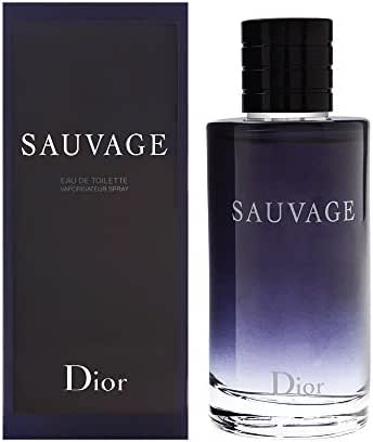 CHRISTIAN DIOR Sauvage For Men Eau De Toilette Spray, 6.8 Ounce