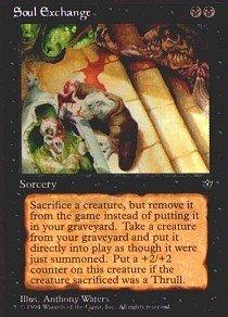 Magic: the Gathering - Soul Exchange - Fallen Empires