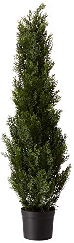 Nearly Natural 5172 Cedar Silk Tree, 4-Feet, Green