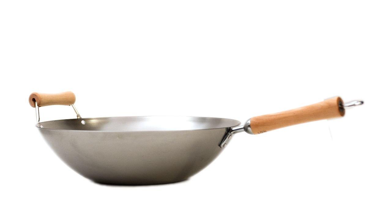 Charcoal Joyce Chen 21-9980 Classic Series 12-Piece Carbon-Steel Nonstick Wok Set