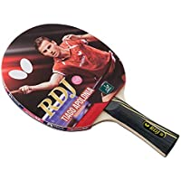 Butterfly RDJ S6 Table Tennis Racket - ITTF Approved Ping Pong Paddle - Ping Pong Racket Thick Sponge Better Speed