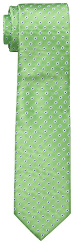 Dockers Big Boys' Dot Necktie, Green, One Size