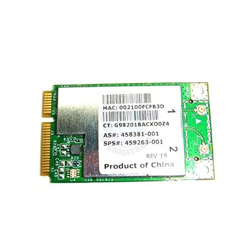 Oem Hp Mini - Hp Broadcom 4312 Wireless Mini Pci-e Card 459263-001 Bcm4312 Bcm94312mcg 458381-001 802.11b/g