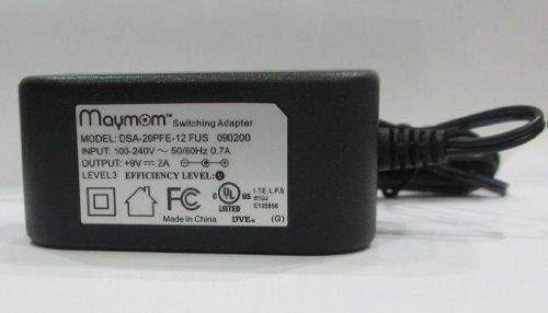 (Maymom AC adapter for Medela's Pump In Style Advanced, Traveler, or Companion; Medela Power Transformer Part # 9207010, 9V Model; Safe, Light, Compact & Efficient)