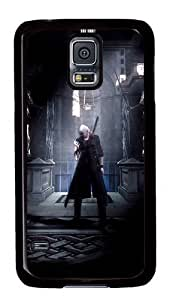 Rugged Samsung Galaxy S5 Case and Cover - Devil May Cry Custom Design PC Case Cover for Samsung Galaxy S5 - Black hjbrhga1544