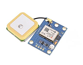 Icstation GY-NEO6MV2 Flight Control GPS Module with Antenna EEPROM MWC APM2.5
