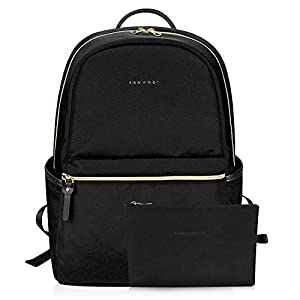 KROSER Laptop Backpack 15.6 Inch Fashion School Computer Backpack Water-Repellent Nylon Casual Daypack with USB Charging…
