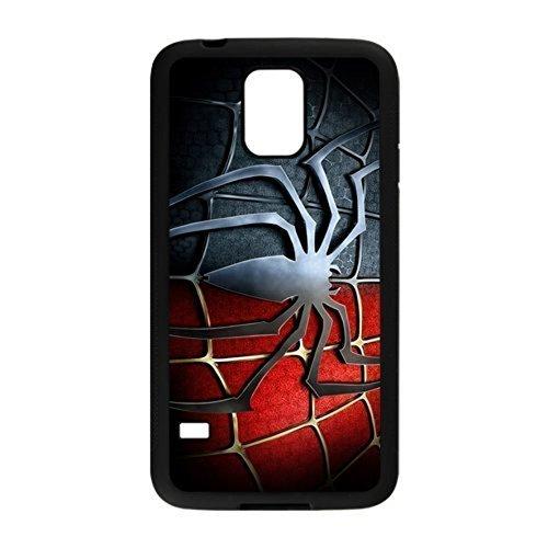 Classic US Comics Superheros Series&Spider Man Theme Silicone Rubber Non-slip Protective Cover Case Skin For Samsung Galaxy S5 I9600 Black Case