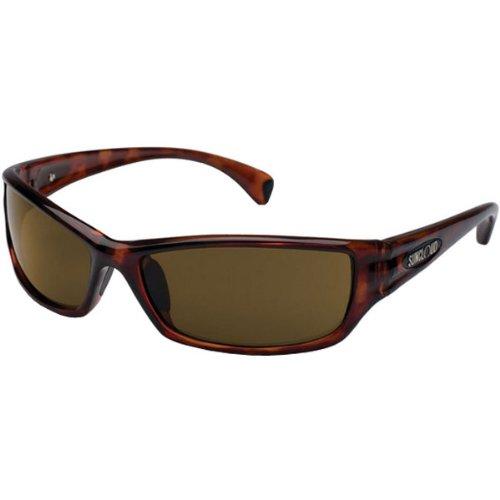 - Suncloud Optics Hook Injected Frames Polarized Sports Sunglasses/Eyewear - Havana/Brown / One Size Fits All