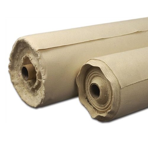 Acrylic Primed Cotton Canvas Roll Size: 56