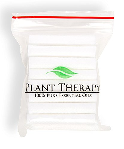 Plant Therapy Replacement Wicks for Aromatherapy Inhalers - Pack of 24