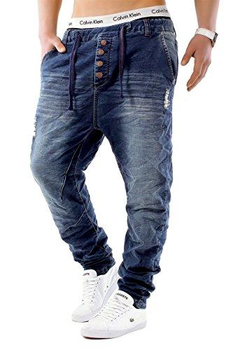 Scuro Slim Id1242 Jeans gamba Uomo Blu Joggjeans Fit Freestar Backyard 1q6x6azwI