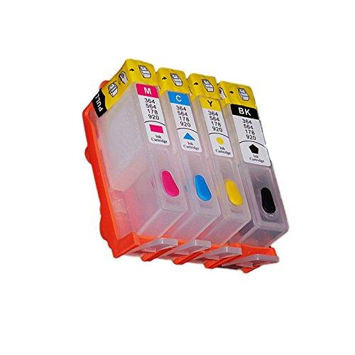 (rch364–1) rellenables, B110a, B110C, Inyección de tinta Cartucho de tinta para HP 364Photosmart B110, B109q,...