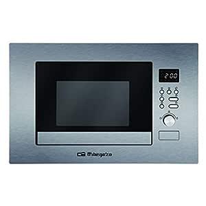 Orbegozo MIG 2037 - Microondas con grill integrable full INOX, 20 ...