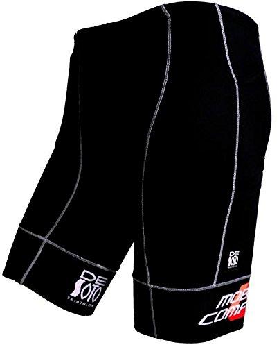 DeSoto Men's Mobius Tri Short (Black/Print, X-Large)