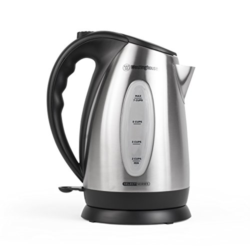 Westinghouse WKE10SSA Select Series 7 Cup Stainless Steel Electric Kettle