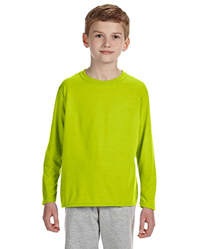 Gildan Performance Youth 4.5 oz. Long-Sleeve T-Shirt, XL, SA