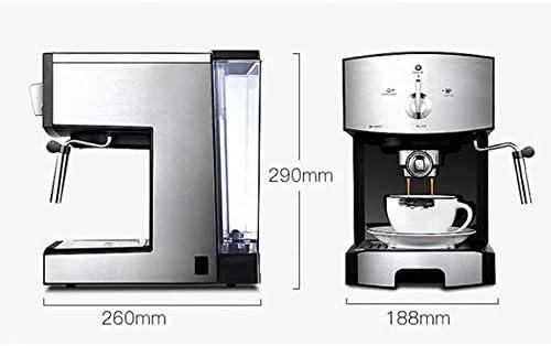 WY-coffee maker Máquina de café de Consumo y Comercial de Tipo Semi-Vapor de Espuma automática, 1350W, 1.25L.
