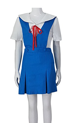 HOLRAN Neon Genesis Evangelion Ayanami Rei Girls School Uniform