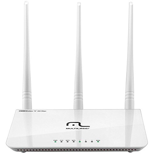 Roteador Wireless 300 Mbps 2.4 GHz 3 Antenas 5 dBi RE163, Multilaser, Outros Acessórios para Notebooks