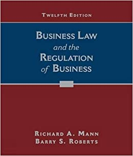Business Law And The Regulation Of Business Books Pdf File