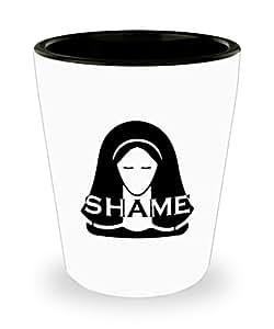 Juego de Tronos vergüenza temáticas de vasos de chupito