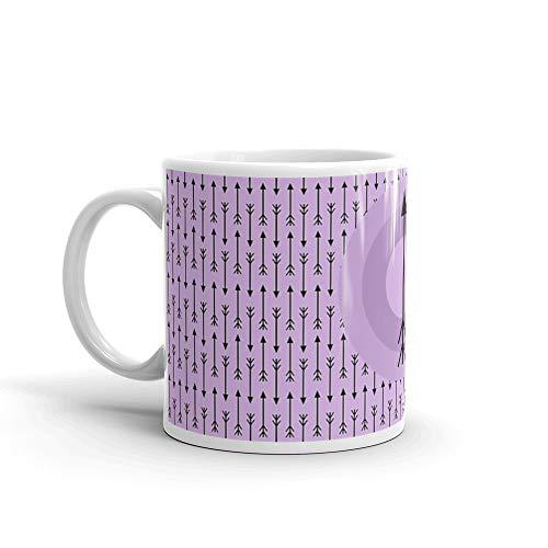 Gosh I Love Arrows Mug 11 Oz White Ceramic