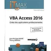 VBA Access 2016 - Créez des applications professionnelles
