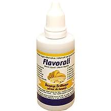 Flavorall Liquid Flavoured Stevia (Alcohol-Free), Banana Brilliance, 50ml