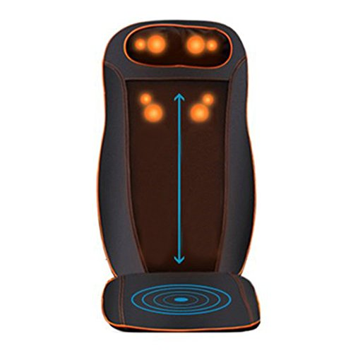 Kendal All in one Kneading Shiatsu Vibration Infrared Heating Seat Massage Cushion Massager for neck...