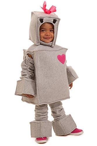 Princess Paradise Kids Rosalie the Robot Costume, X-Small, Gray -
