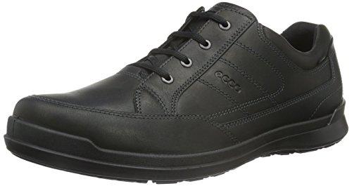 Ecco Howell Hommes Derby Noir Chaussures Richelieu