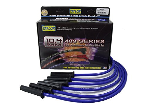 Taylor Cable 79624 409 Pro Race Ignition Wire Sets, 1 (409 Pro Race Wires)