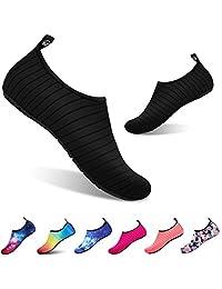 todaysunny Water Shoes Men Women Water Socks Aqua Shoes Socks Barefoot Skin Shoes Yoga Shoes Quick Dry Camo Dive Surf Swim Beach Shoes