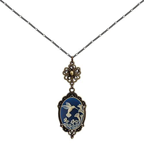Yspace Hummingbird Lucky Clover Heart Necklace Best