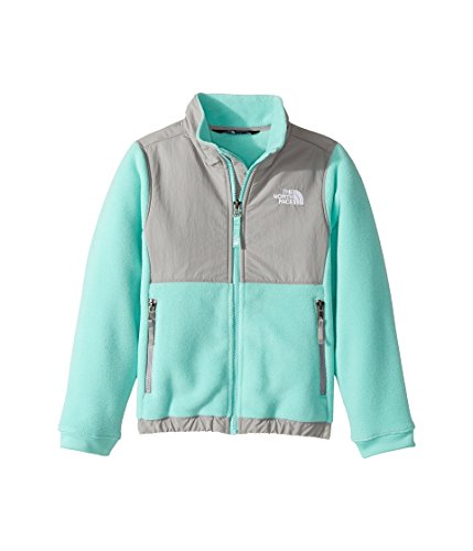 The North Face Kids Denali Jacket Little Kids/Big Kids Bermuda Green Girl's Coat