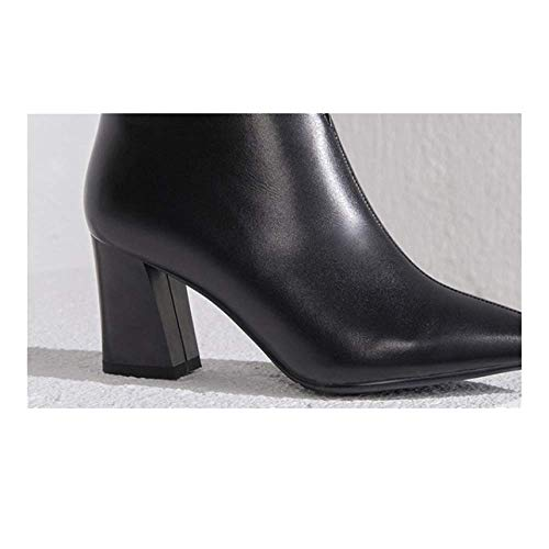 pour Mode Confortables Polyvalentes Décontractées élégantes Pointues Femmes Chaussures Black ZPEDY 5gqtwAa4