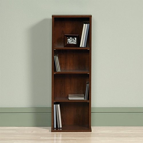 UPC 042666160162, Sauder Beginnings 4 Shelf Bookcase in Brook Cherry