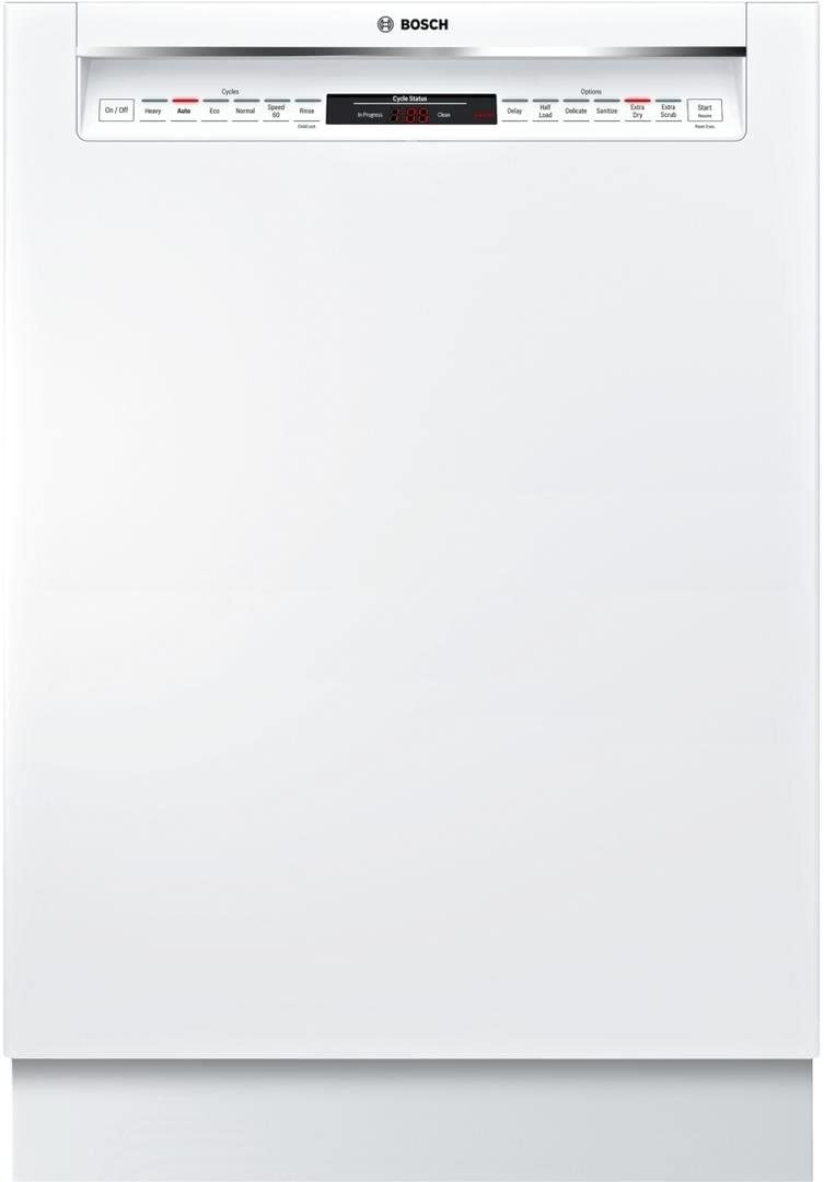 B073D46VJF SHE878WD2N 24 800 Series Recessed Handle Dishwasher with 6 Cycles 6 Options Flexible Third Rack Glide Touch Controls in White 41EfYOhQRIL.SL1080_