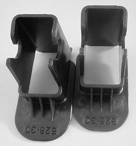 Latch guía general de pasajeros coche asientos de seguridad para niños Isofix interfaz cinturón pasador guía (Isofix) negro negro: Amazon.es: Bebé