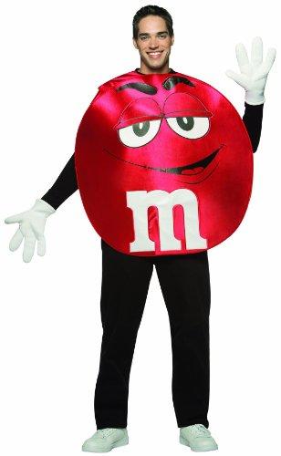 Rasta Imposta M&M's Poncho, Red, Standard