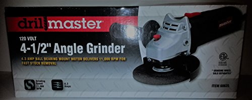 Review Drill Master 4-1/2″ Angle