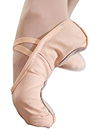 Ballet Flats for Women Canvas Ballet Shoes Ballet Slippers Shoes Split Sole Yoga Dance Shoes