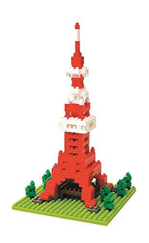 Kawada NBH-001 Nanoblock Tokyo Tower - Orange